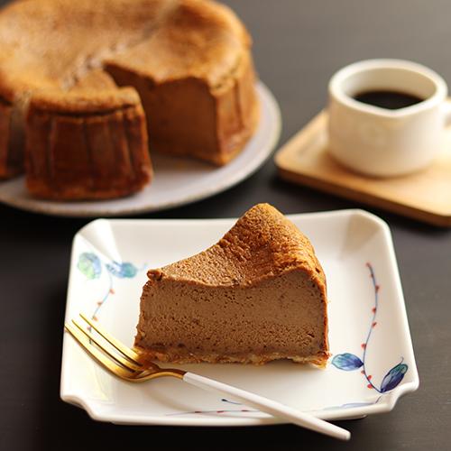黒糖きな粉の濃厚チーズケーキ【グルテンフリー】