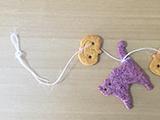 ★お部屋にハロウィンを!クッキーガーランド★